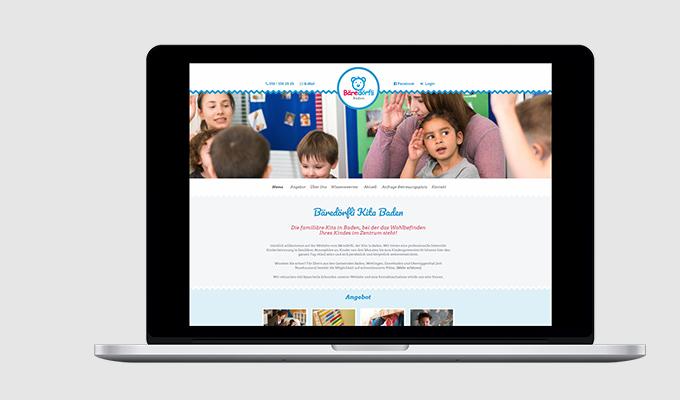 Website Kita Bäredörfli