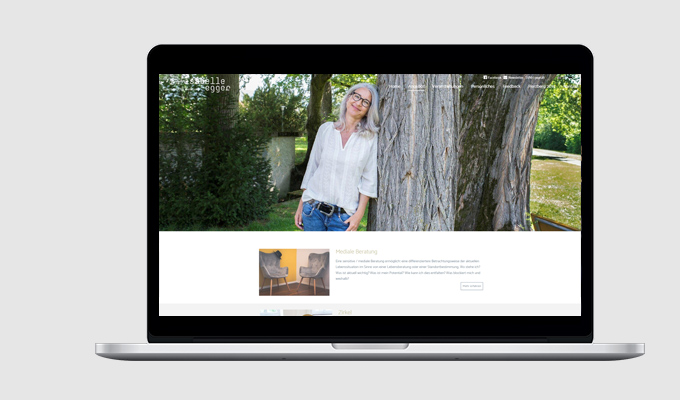 Website Isabelle Egger