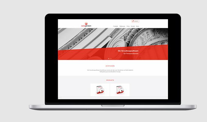 Website SwissPension