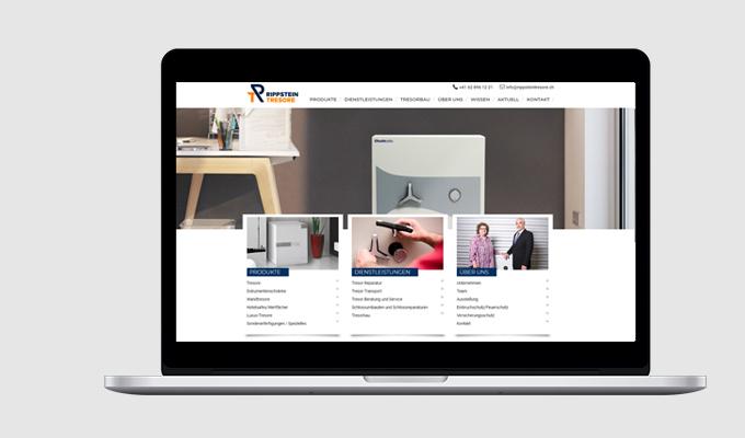 Website Rippstein Tresore AG